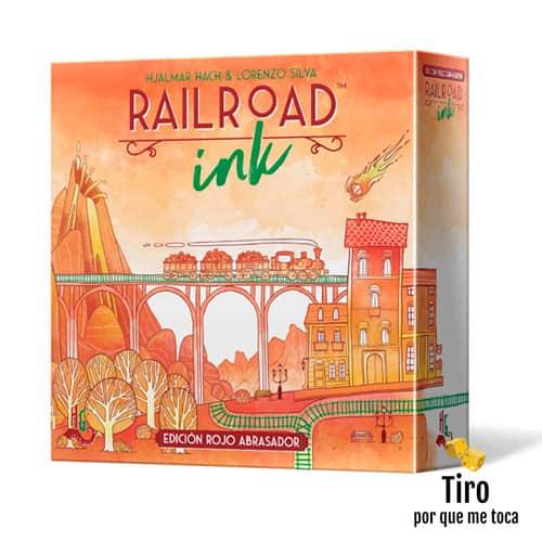 railroad ink juego de mesa