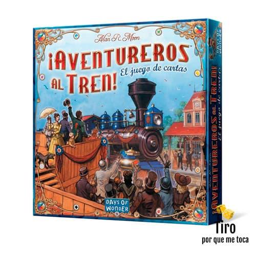 aventureros al tren juego de cartas
