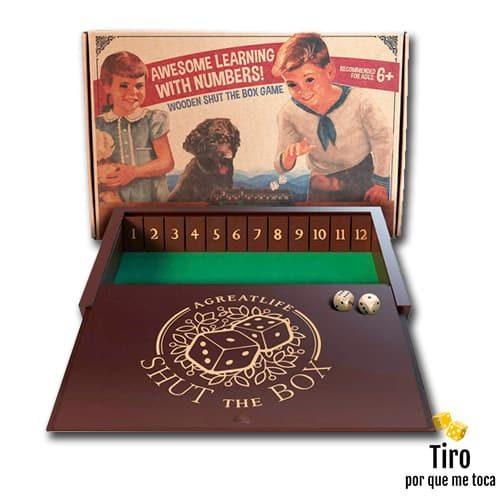Shut the box juego