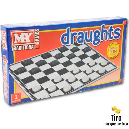 tablero y juego de damas