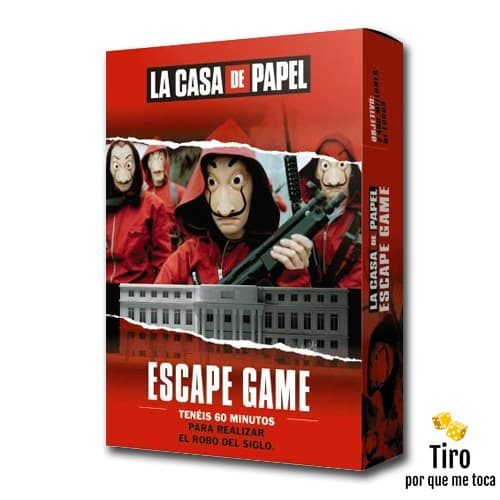 La casa de papel escape room