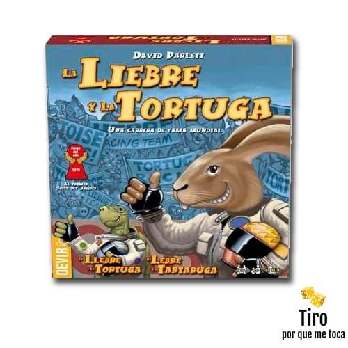 la liebre y la tortuga juego de mesa
