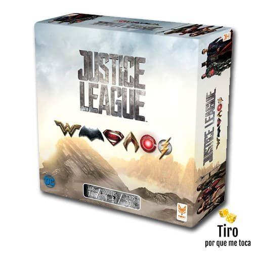 liga de la justicia juego de mesa