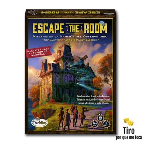 misterio en la mansión del observatorio