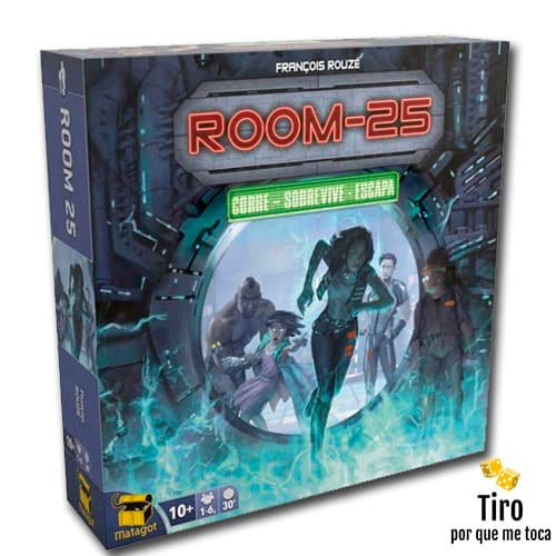 Room 25 juego de mesa