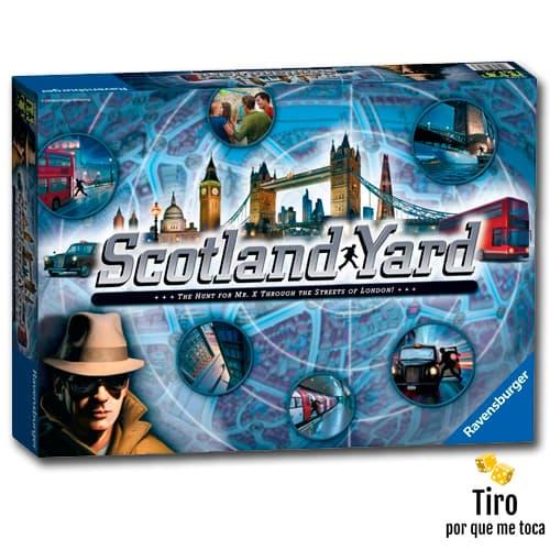 scotland yard juego de mesa
