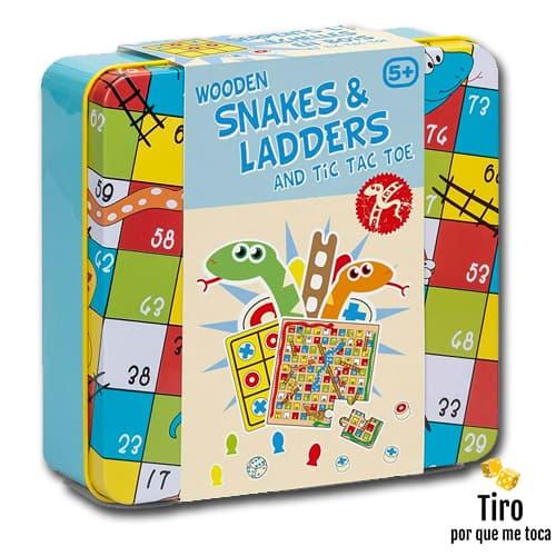 serpientes y escaleras juego